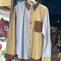 【CHUMS】BD CRAZY SHIRT BEIGE