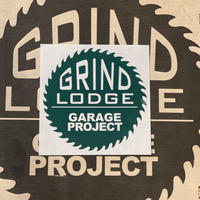【GRINDLODGE】 CUTTING STICKER M size