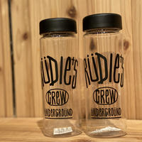 【RUDIES】DROWING CLEAR BOTTLE