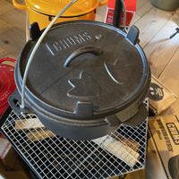 【CHUMS】チャムスダッチオーブン10inch