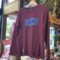 【CHUMS】BOAT LOGO L/S T-SHIRT