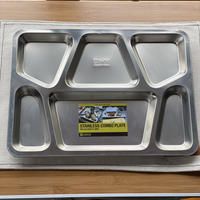 【DULTON】STAINLESS COMBO PLATE D