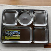 【DULTON】STAINLESS COMBO PLATE C
