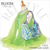 BLOOM-ブルーム パステル花柄+パールパープルエナメル