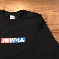 REIMGLA BOX LOGO Long-T (Black)