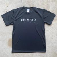REIMGLA Simple Logo Dry T-shirts( BLACK)