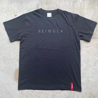 REIMGLA Simple Logo T-shirts( B/B)