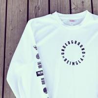 REIMGLA UND Circle Dry LongT-shirts(White)