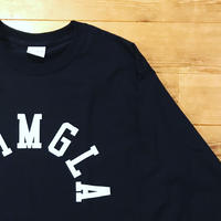 REIMGLA ARCH LOGO Long T-shirts(Black)