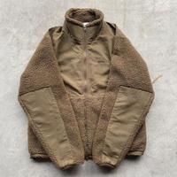 REIMGLA Sheep Boa Fleece Stand Jacket(CoyoteBrown)