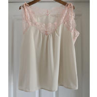 Crepe × Lace BLOUSE