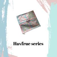 1001  HAVFRUE/  SCARF TOTE/PINK(31)