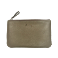 8511 BREV/LEATHER POUCH M/   KHAKI(52)