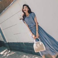 韓流 女性 ファッション ワンピース レディース ドレス