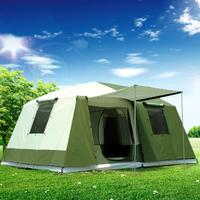 大型 テント 防水 暴風 6~12人用 アウトドア キャンプ