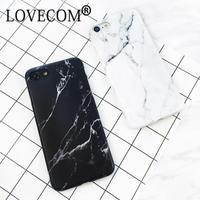 LOVECOM iPhone ケース 6~X  XR XS Max 大理石風 スマホケース