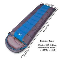 DesertFox アウトドア  キャンプ キャンプ用 寝袋 軽量 防水