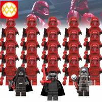 レン騎士団 スターウォーズ レゴ ブロック 互換 カイロ・レン エリート隊 ストームトルーパー 23体セット 玩具 おもちゃ