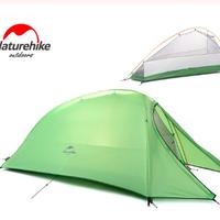 Naturehike アウトドア 超軽量 テント クラウドアップシリーズ キャンプ テントマット付き