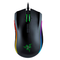 Razer ゲーム ゲーミングマウス Mamba Elite 16000 DPI 5Gクロマ光センサーライト人間工学に基づいたゲーミングマウス