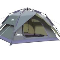 DesertFox アウトドア キャンプ テント 自動テント3-4人用