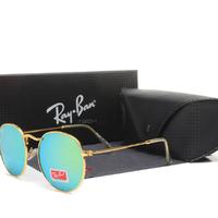 高級ブランド 正規品 Rayban サングラス レトロスタイル アウトドア スナップサングラス (男性/女性)