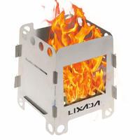 LIXADA 折りたたみ 焚き火台 ソロ用 ウッドバーニング