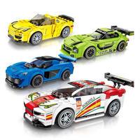 レゴ互換 スピードチャンピオン 4個セット 4種類から選択 LEGO互換