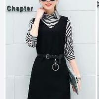 韓流 女性 ファション ツーピース ドレス