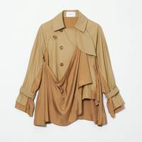 Drape Spring Coat
