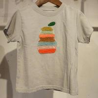 marbleSUD(マーブルシュッド) ヨウナシCROCHET KIDS Tシャツ GRAY (90-130cm) キッズ 125S999303