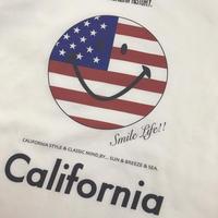 再販!受注生産のみ!sun&breeze&sea. 2周年 記念 Tシャツ /星条旗スマイル
