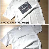 【size/S】CAIFORNIA DAYS. × sun&breeze&sea. コラボTシャツ (受注生産) 選べる写真/サイズオーダー可能【!!こちらはsize/Sとなります!!】