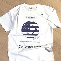 受注生産のみ!sun&breeze&sea.  /星条旗スマイル/ネイビー/ワントーン