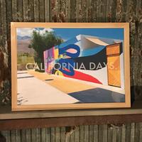 CALIFORNIADAYS./POOL SIDE ART.(A3サイズ)