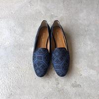 Kimono Fabric Loafer