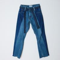 【&her】her denim pants -straight-