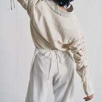 【&her】Primitive Pants/White