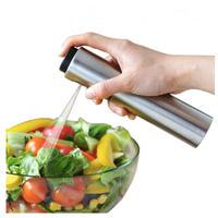 オリーブ ポンプ スプレー ステンレス ボトル オイル噴霧器 ミスト キッチンツール