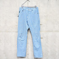 Paul Smith gingham plaid pants