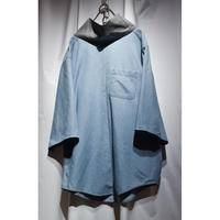 Design Pull Over Denim Shirt / unisex