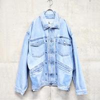90's Calvin Klein design big denim jacket