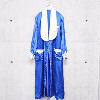 ~60's shawl collar satin gown