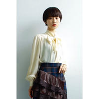 Silk ribbon shirt