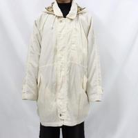 90's nylon foodie half coat
