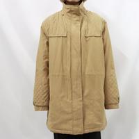 Mackintosh NEW ENGLAND fake suède padding jacket