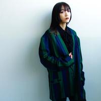 90's stripe tailored jacket