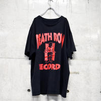 90s printed tee 「DEATH ROW RECORDS」