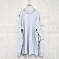 Supreme long sleeve tee gray
