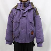 Powderhorn Mountaineering  leather × cotton down jacket